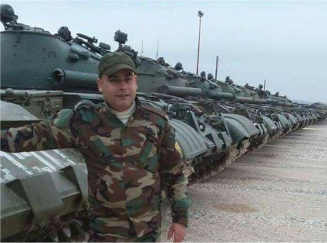 Russia has delivered new batch of T-62M main battle tanks and BMP-1 IFVs to Syria 640 001