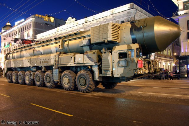 Strategic Topol-M missile successfully hits conditional target in Kamchatka 640 001