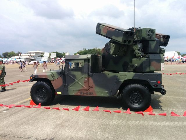 Two days of military exercises for the Taiwanese army with Avenger air defense systems 640 001