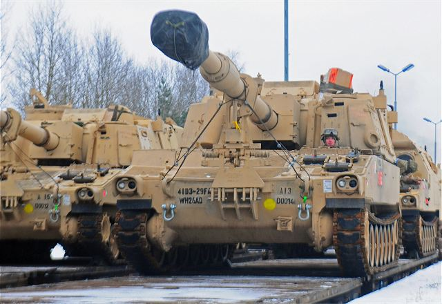US army 3rd Armored Brigade Combat Team arrived in Poland with 3500 soldiers 640 001