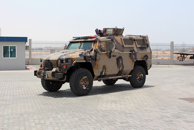 STREIT Group, the world's largest armored vehicles manufacturing company has launched the Cougar 2, LAMV (Light Armoured Multipurpose Vehicle), a modernized version of the previous model Cougar designed and manufactured by Streit Group.