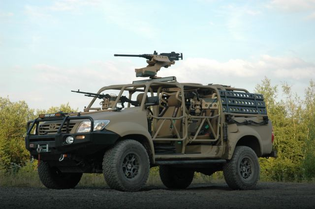The Hornet Special Operations Vehicle (SOV) has been developed as a highly capable successor to similar vehicles which have been traditionally built on Land Rover Defender, Mercedes Benz G-Wagen or Pinzgauer platforms.