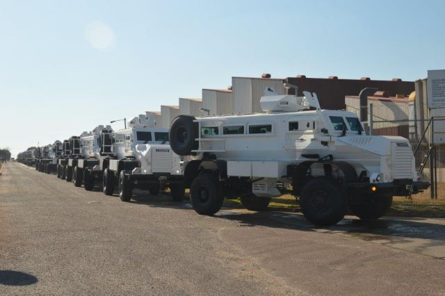 Another consignment of 21 Casspir mine-protected vehicles is ready for handover and shipment to an African client. This forms part of a total order of 45 vehicles of which Denel has already delivered 24 during December 2016.
