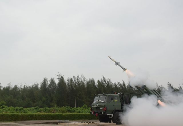 Defence Research and Development Organisation (DRDO) developed Quick Reaction Surface to Air Missile (QRSAM) was successfully flight tested from ITR Chandipur, off the Odisha Coast at 11.30 AM today.