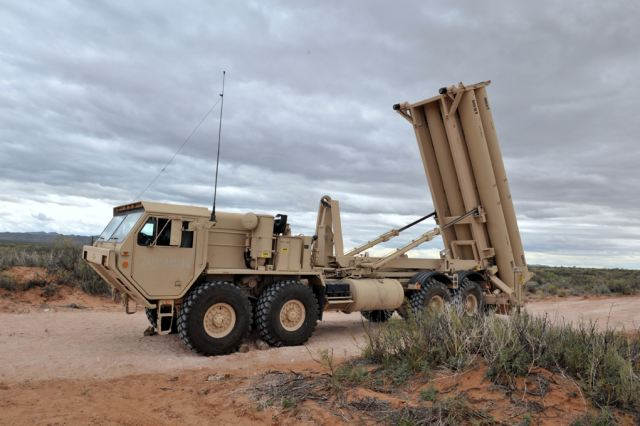 The Missile Defense Agency and soldiers of the 11th Air Defense Artillery Brigade from Fort Bliss, Texas, conducted a successful missile defense test on July 30th using the Terminal High Altitude Area Defense system, according to a Missile Defense Agency news release.