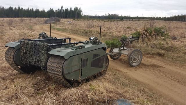 The Estonian Defence solutions provider Milrem and the Estonian Defence league signed a cooperation agreement to start rigorous tests of Milrem's unmanned ground vehicle THeMIS during live military exercises.