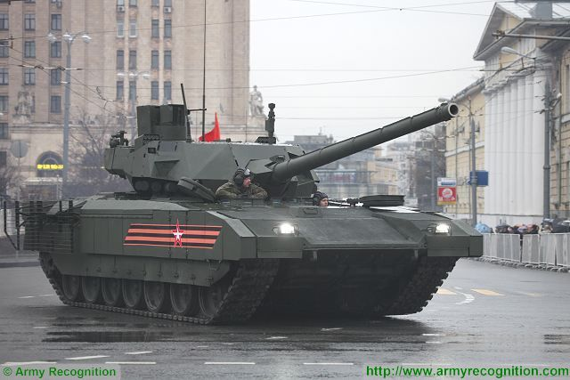 The operational evaluation of the Armata MBT will start in 2019, said Deputy Prime Minister Dmitry Rogozin at a meeting on progress in implementing UVZ' order book. The T-14 Armata was unveiled for the first time to the public during the military parade in Moscow for the Victory Day in May 9, 2015.