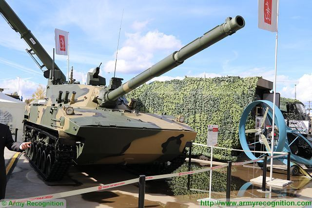 The self-propelled antitank Sprut-SDM1 gun will be used to create a family of armored hardware, Executive Director of Tractor Plants Concern Fizuli Seifedov told a corporate publication of the enterprise.