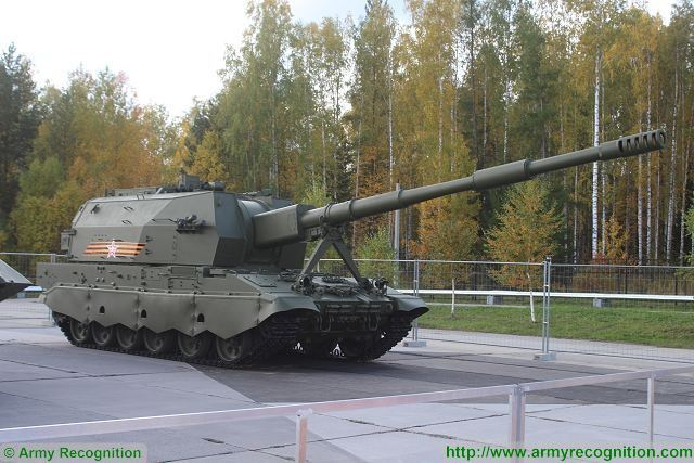 The Tecmash Concern of the Rostec State Corporation is implementing a program to create new munition for perspective self-propelled artillery gun Koalitsiya-SV (Coalition-SV), Director General of the company Sergei Rusakov said.