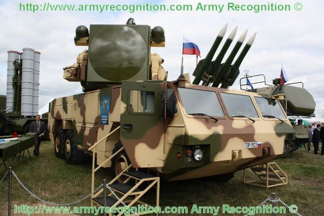 The air defense missile regiment of the Western Military District's Kantemirovskaya Armored Division has used the Tor-M2 (NATO reporting name: SA-15 Gauntlet) SAM system to hold the first live-firing exercise at the Kapustin Yar training range in south Russia, the Defense Ministry's press office said.