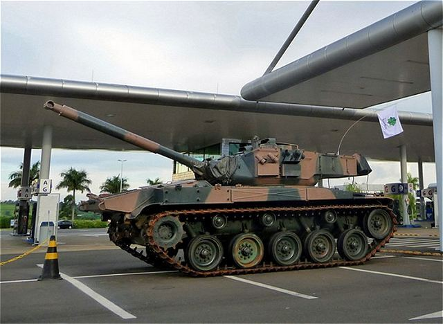 The Brazilian Parliament resumed the project of donating 25 M41C tanks to the Uruguayan National Army. The project, submitted to the Brazilian Chamber of Deputies for consideration in June 2013, was paralyzed since December 2015, when it was referred to the Constitution, Justice and Citizenship Commission.