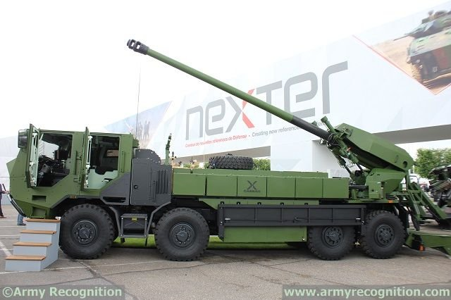 The Danish Ministry of Defence has decided that the French company Nexter will supply the country with new artillery systems. Denmark has purchased 15 units of the new system and have an option for 6 more. The deal is about 300 millions Danish Krone. It will replace the 32 US-built M109A3 self-propelled howitzers.