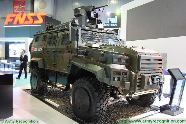 According a project developer of the Turkish Company Nurol Makina, the Ejder Yalcin 4x4 tactical armoured vehicle will be delivered to an undisclosed customer in North Africa. The export contract was signed with a ministry of defense of North African country after the successful completion of field tests in the desert.