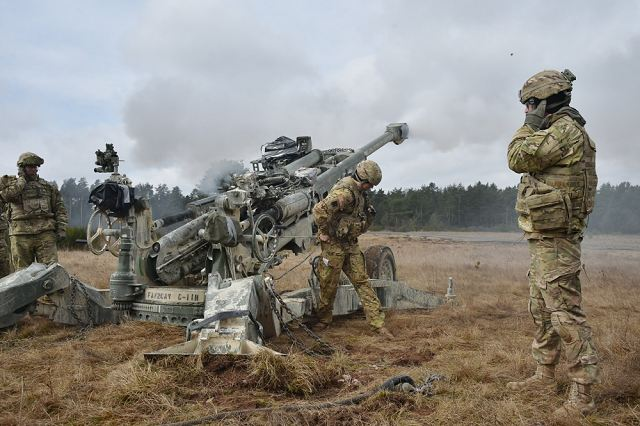 Large multinational military exercise for U.S. artillery unit in the Grafenwoehr Training Area, Germany. Dynamic Front II, which took place March 6 to 9, tested the interoperability at the tactical level using the Artillery Systems Cooperation Activities program that integrated NATO Allies into an artillery live-fire exercise.