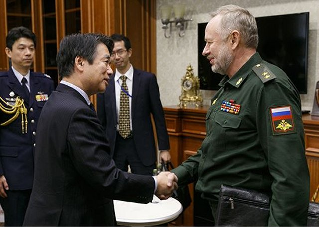 Russian Deputy Defense Minister Lieutenant-General Alexander Fomin has held talks with Japanese Ambassador to Russia Toyohisa Kozuki to discuss bilateral cooperation prospects, the Russian Defense Ministry's press office said. The talks were held on the threshold of a meeting of the defense and foreign ministers of Russia and Japan in Tokyo, the press office added.