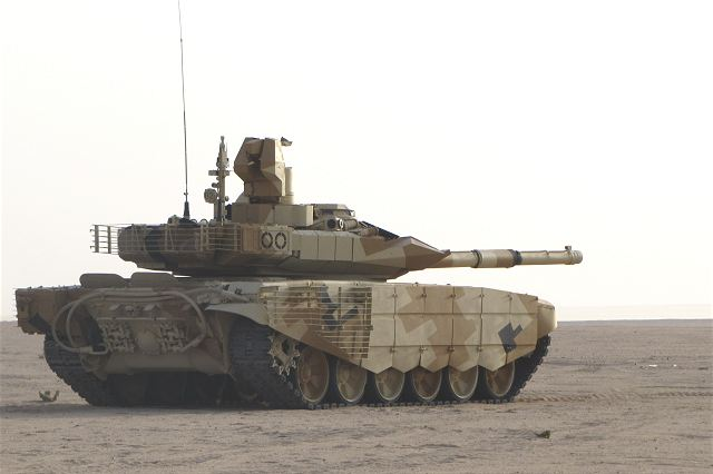 Russia in talks with Saudi Arabia for the sale of T 90MS main battle tanks 640 001