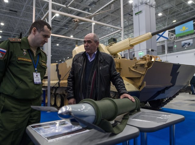 Russia unveils new rocket launcher deployed reconnaissance UAV 640 001