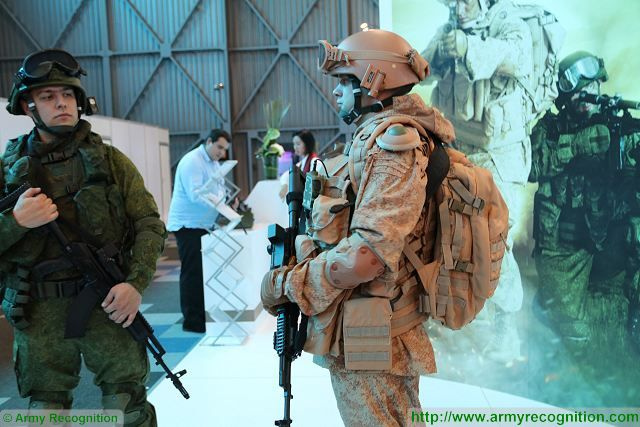 Russian Airborne troops will use the same Ratnik combat gear as the Russian land force 640 001