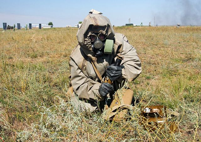 The Russian Army Chemical Corps and the regiments being activated to conduct man-made and natural disaster relief operations at the Defense Ministry's installations will be issued protective kits that will afford the wearers virtually total invulnerability to chemical agents, radioactive dust and biological weapons, according to the Izvestia daily.