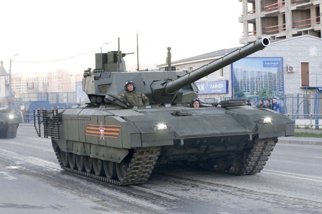 Future Russian armor on the Armata commonized heavy tracked chassis will be equipped with Pterodactyl unmanned aerial vehicles (UAV), according to the Izvestia daily newspaper.