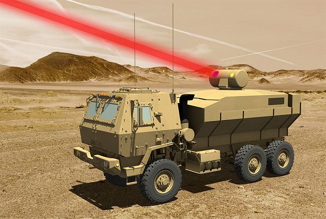 US Company Lockheed Martin will deliver 60 kW laser weapon on FMTV truck to US army 640 001