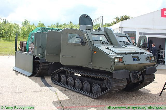 VOP from Czech Republic will produce components for BAE Systems BvS10 All Terrain vehicle 640 001