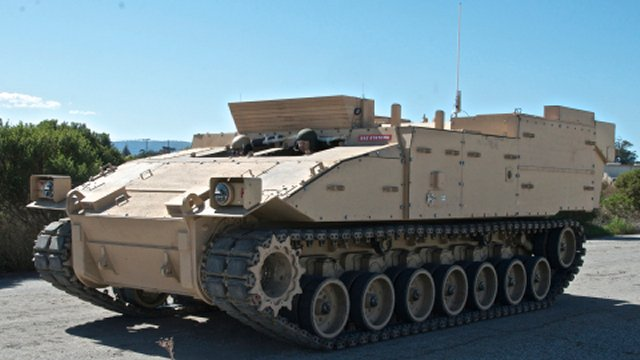 BAE Systems Teams with QinetiQ to Pursue Electric Drive on Combat Vehicles 640 001
