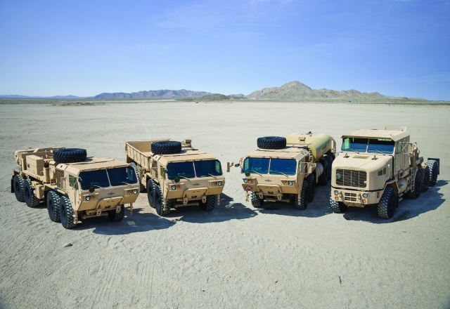 Oshkosh Defense company, announces that it has been awarded multiple delivery orders from the U.S. Army Tank-Automotive and Armaments Command (TACOM) to recapitalize vehicles from its Family of Heavy Tactical Vehicles (FHTV) fleet.