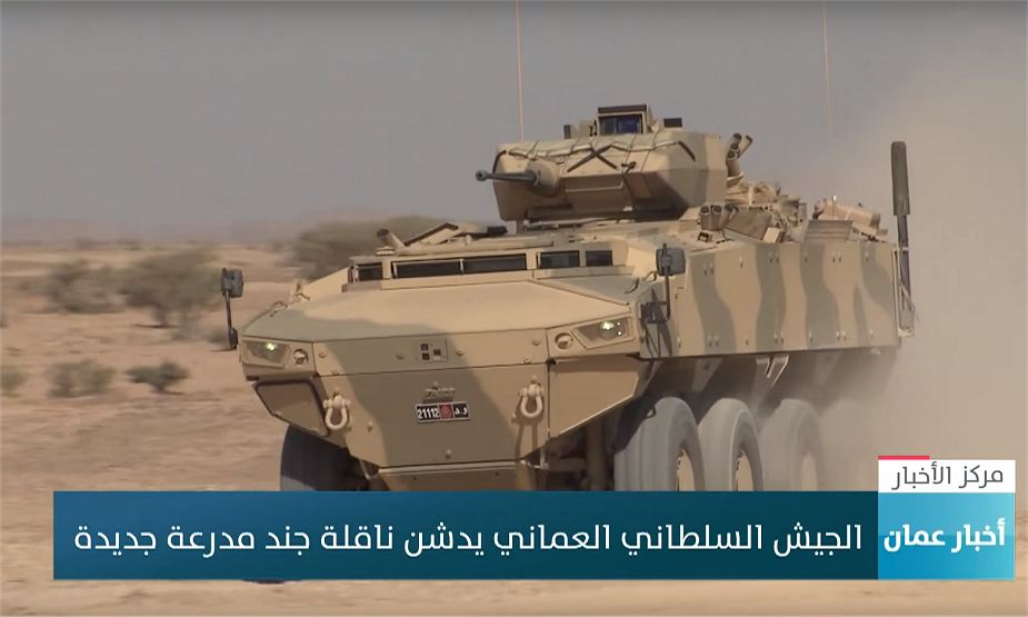 FNSS PARS III 8x8 armoured enters in service with Oman Army 925 001
