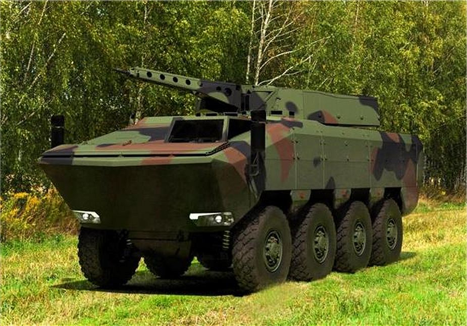 German Company Rheinmetall could manufacture Agilis new 8x8 armoured vehicle in Romania 925 001