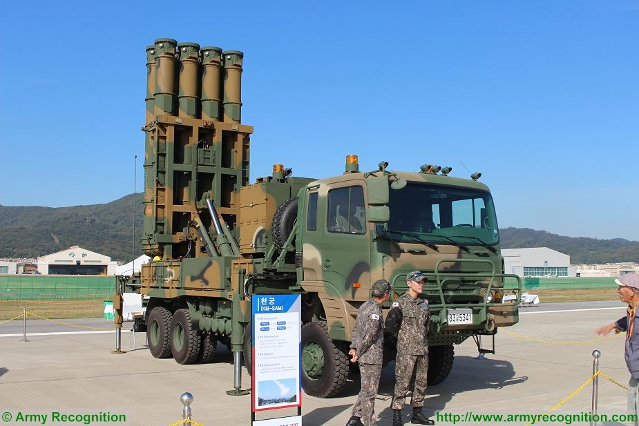South Korea first live fire exercise with local made Cheongung air defense missile system 925 002