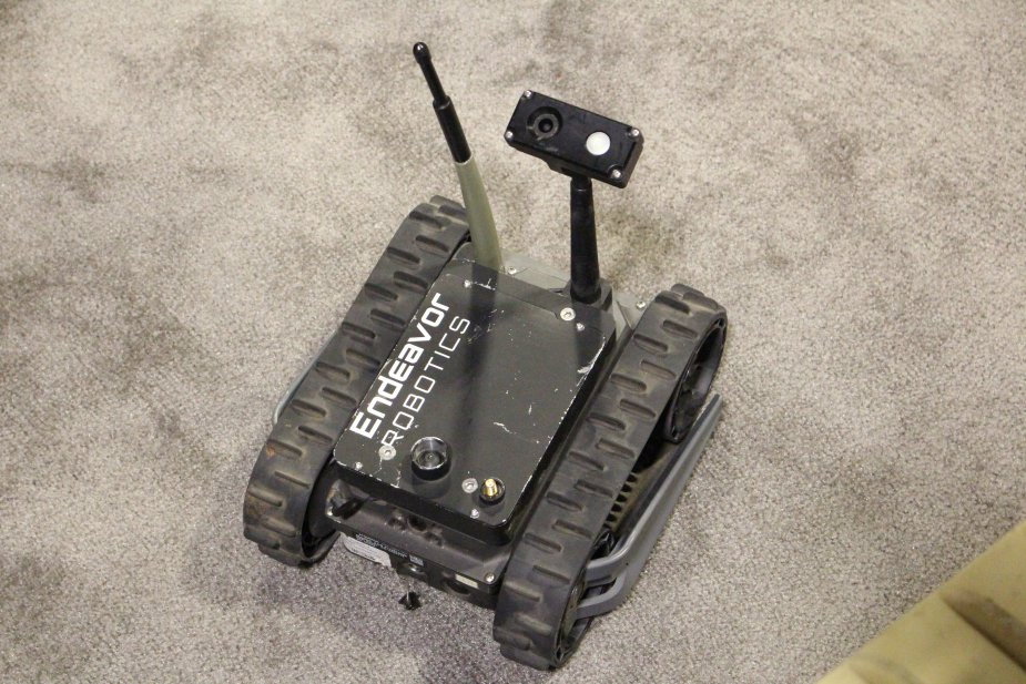Endeavor Robotics wins contract for 75 Firstlook robot with the US Government 925 001