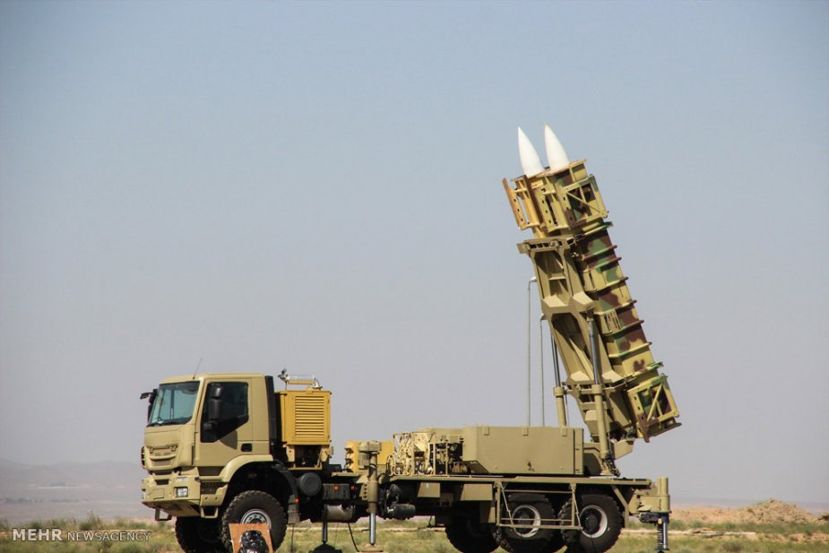 Iranian army deploys new Talash 3 Air Defence System to western Iran 925 001