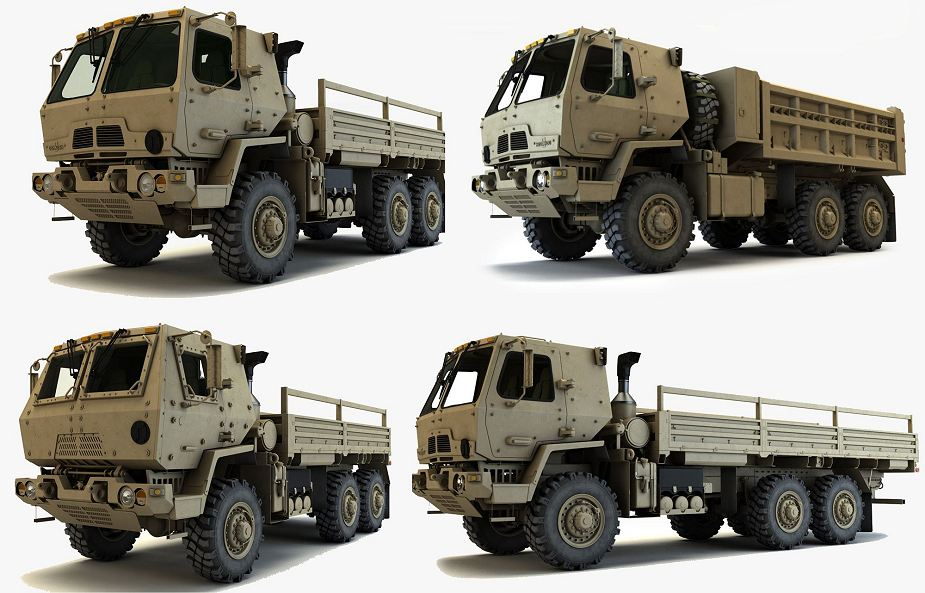 Oshkosh Defense contract to produce FMTV A1P2 trucks for US Army 925 001