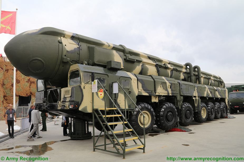 Russia test fired Topol SS 25 ballistic missile with new warhead 925 001