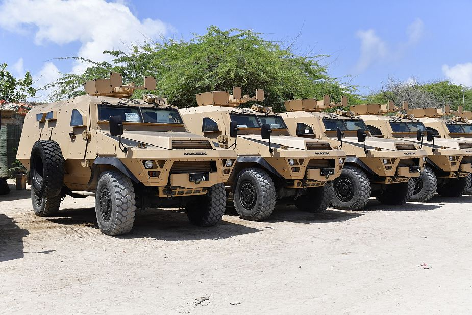 US donates Mack Defense Bastion 4x4 armored vehicle to Ugandan Contingent of AMISOM Somalia 925 001
