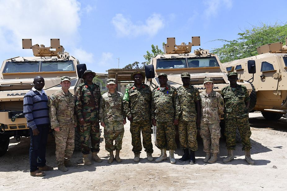 US donates Mack Defense Bastion 4x4 armored vehicle to Ugandan Contingent of AMISOM Somalia 925 002