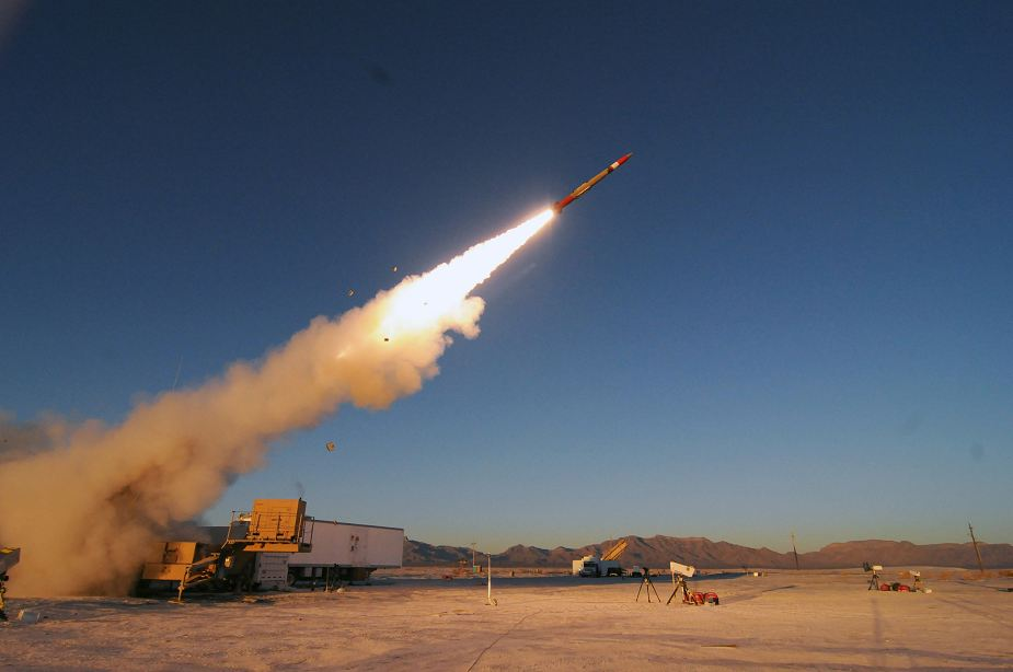 New distance record for Patriot PAC 3 MSE air defense missile system 925 001