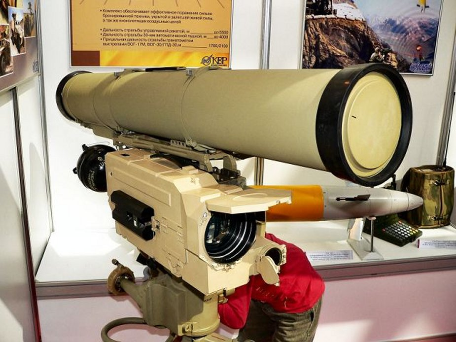 Qatar inks deals to buy Russian firearms antitank missiles