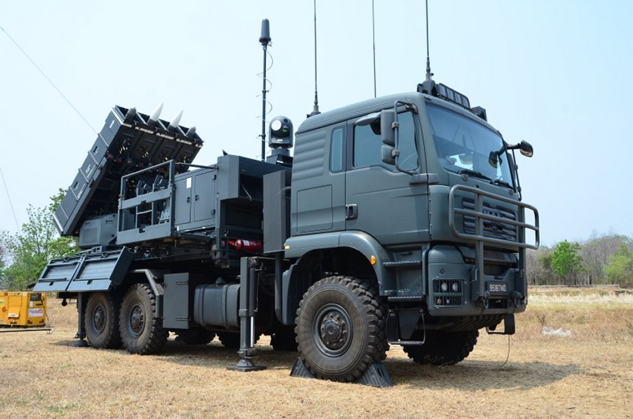 Singaporean Surface to air PYthon 5 and DERby SPYDER ground based air defence system operational