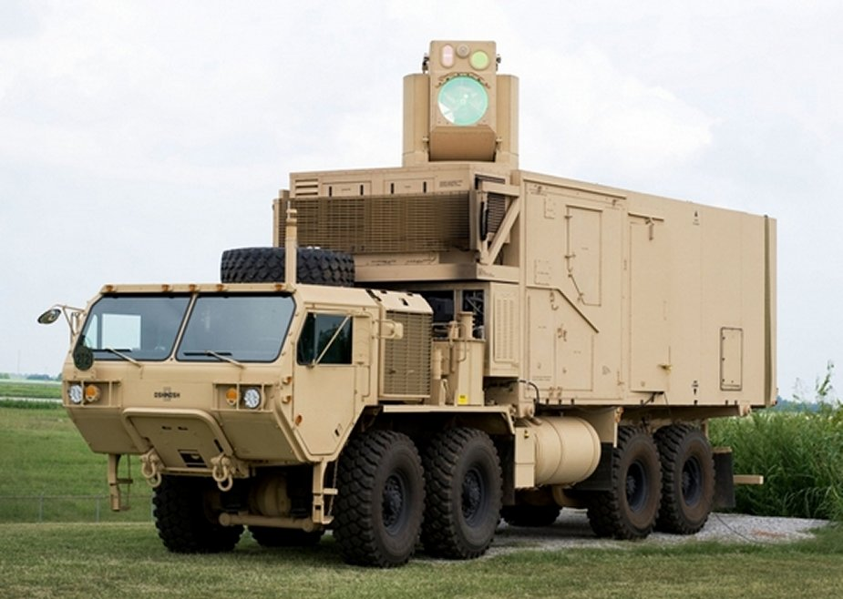 US Army laser designed by Raytheon