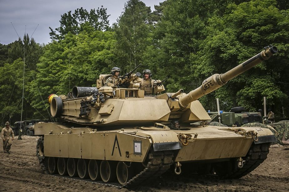 US Army will receive 100 more M1A1 tanks upgraded to M1A2 Sep V3 standard 925 001