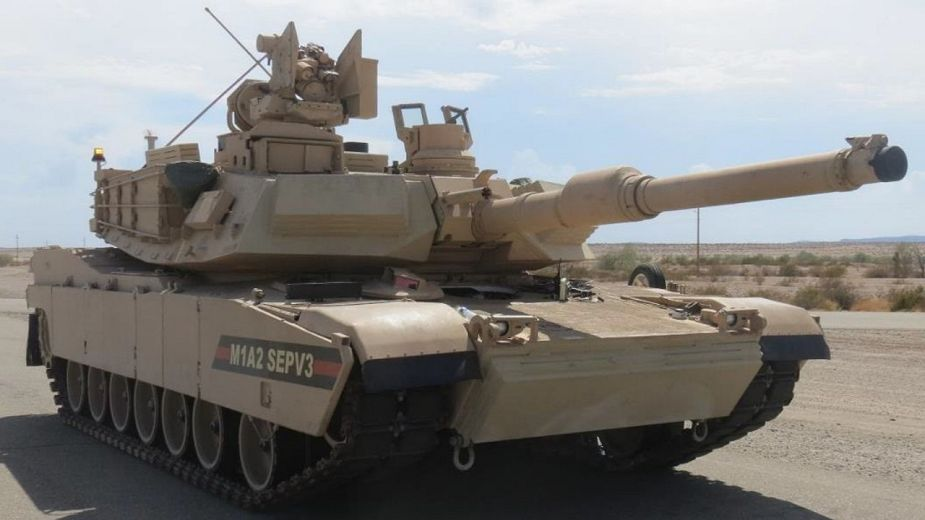 US Army will receive 100 more M1A1 tanks upgraded to M1A2 Sep V3 standard 925 002