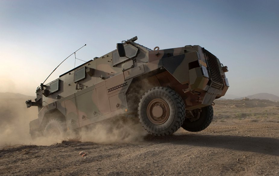 Bushmaster Royal Netherlands Army Thales contract 001
