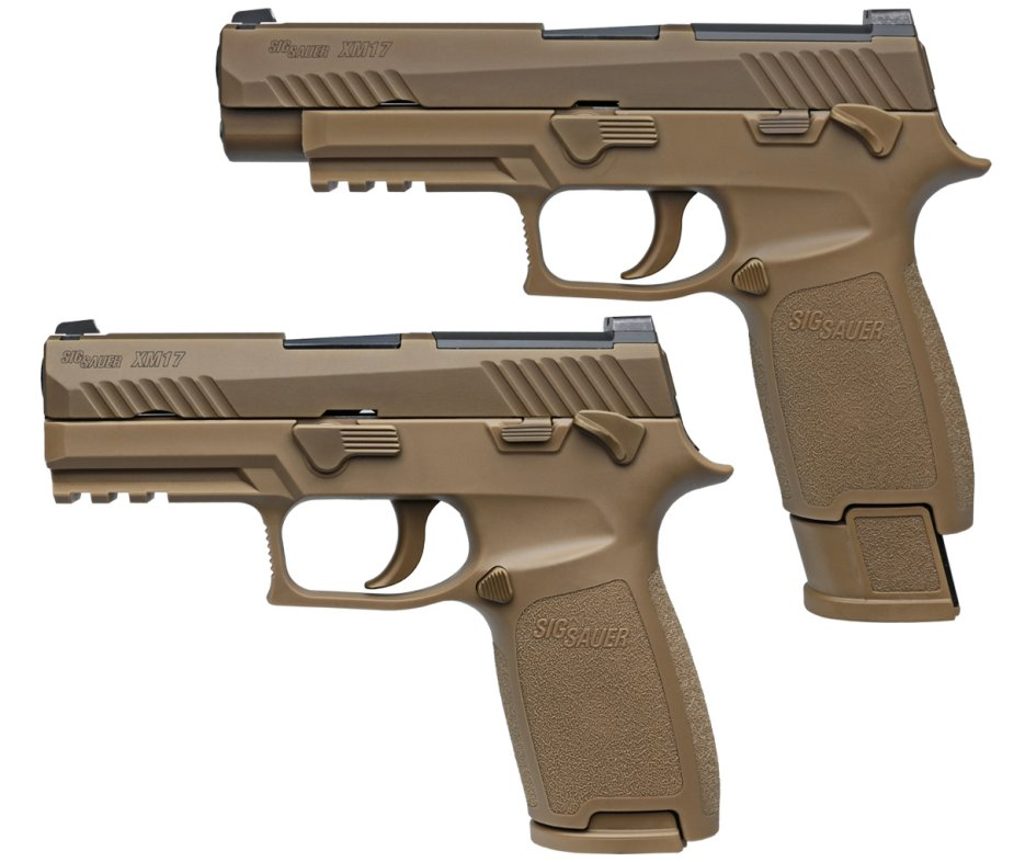 Sig Sauer P320 X Carry pistol for Danish army