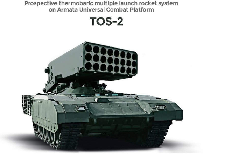 TOS-2 new concept of Heavy Flamethrower System based on ...