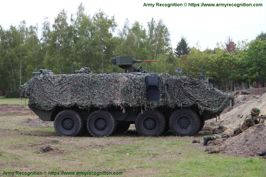 b9bb4f500e Live combat demonstration of new Belgian Army Motorized Brigade