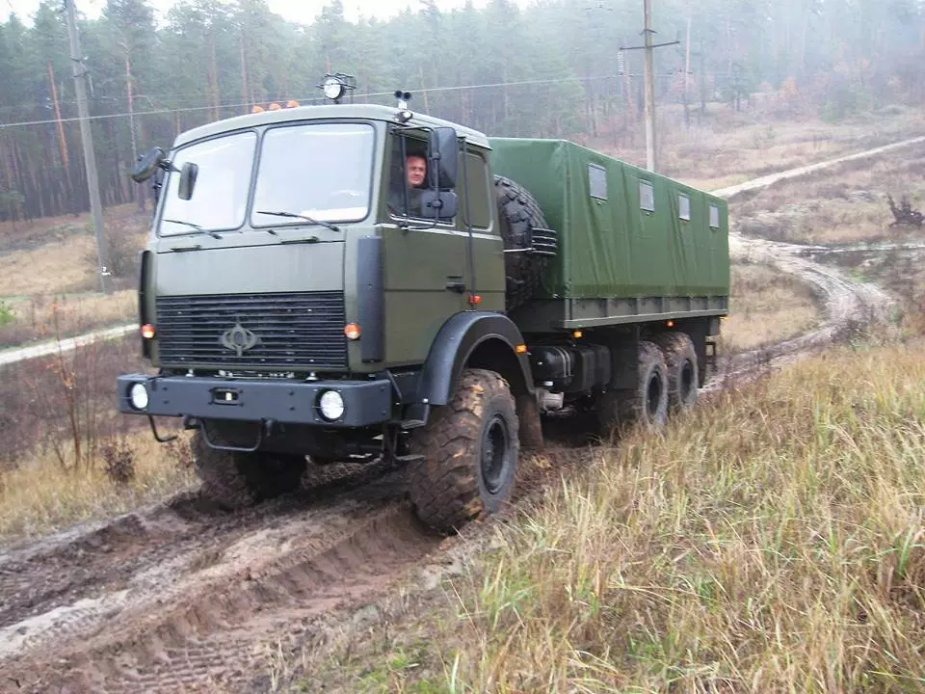 Bogdan Corporation delivers new batch of 6x6 trucks to Ukrainian army