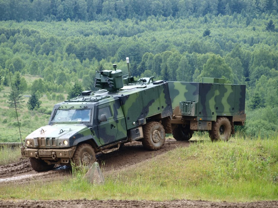 Czech army to receive 80 CBRN armored vehicles 2