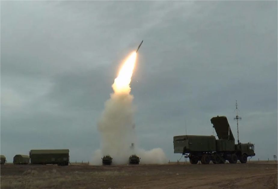China has conducted firing test of S 400 air defense missile system 925 001
